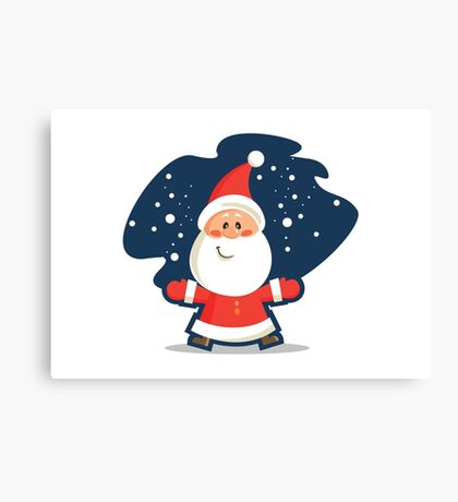 Cute Santa Clause Canvas Print