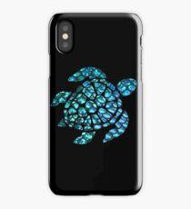 Blue Sea Turtle  iPhone Case/Skin