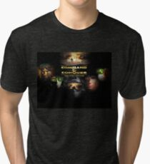 Command & Conquer - The First Decade (Clean) Tri-blend T-Shirt