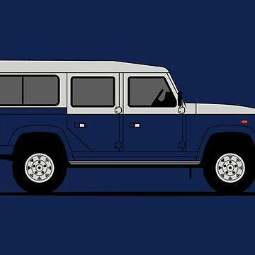 A Graphical Interpretation of the Defender 110 Station Wagon Vantage Field Coyote by 3pedaldriving