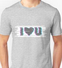I LOVE GLITCH Unisex T-Shirt