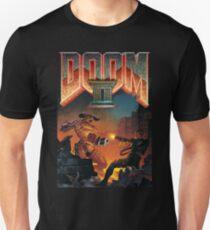 Doom II Hell On Earth PC 1994 FPS  Unisex T-Shirt