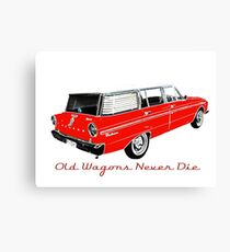 XM Falcon Wagon - Old Wagons never die Canvas Print