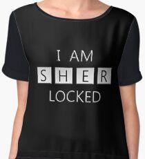 sherlock holmes Women's Chiffon Top