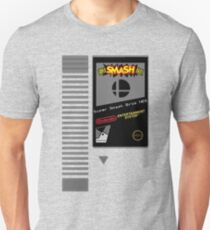 Nes Cartridge: Super Smash Bros T-Shirt