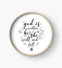 Christian Quote Clock