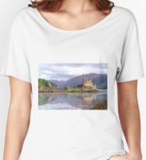Eilean Donan Castle , Scotland Women's Relaxed Fit T-Shirt