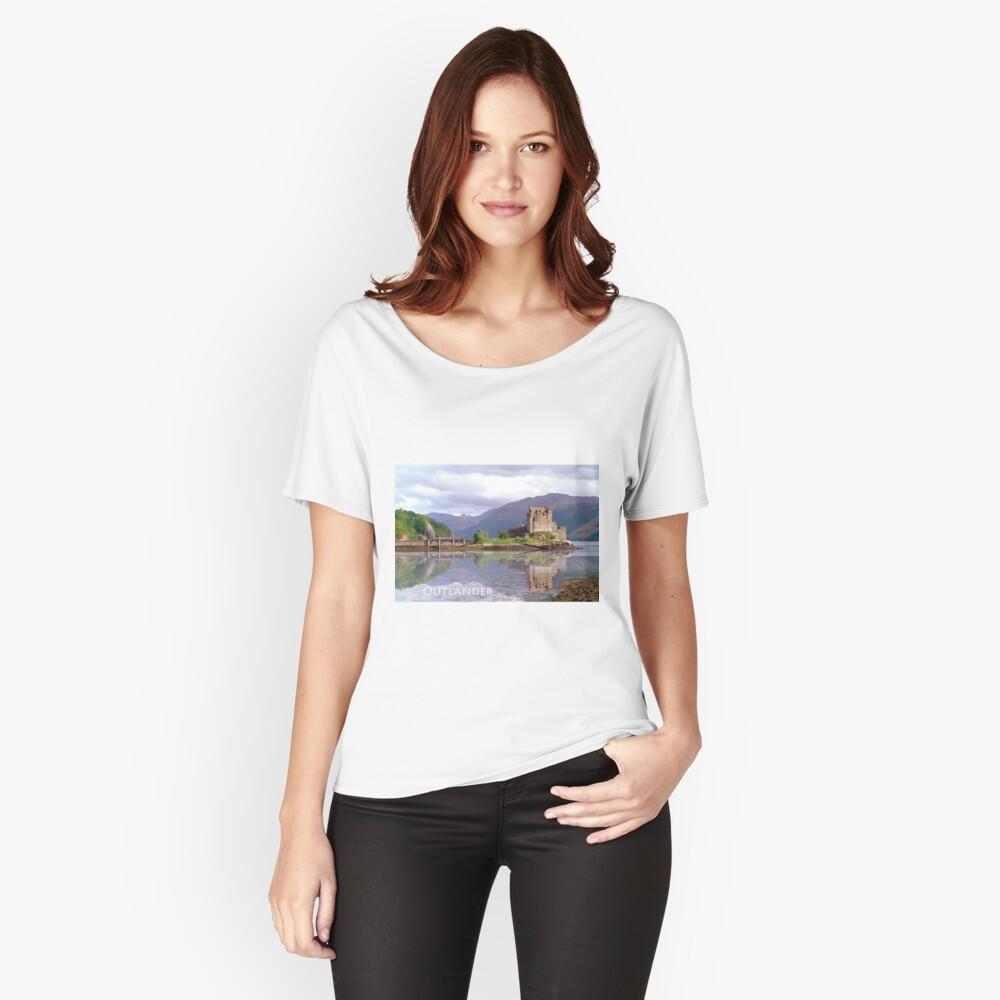 Eilean Donan Castle , Scotland Women's Relaxed Fit T-Shirt Front