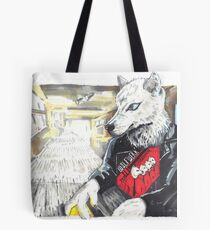 Record Store Wolf in Berlin Tote Bag