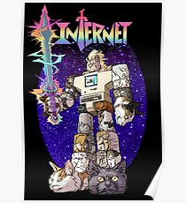 Internet Cat Warrior Poster