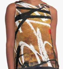 Abstract with Accent  Contrast Tank