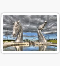 the Kelpies , Helix Park , Grangemouth  654 Sticker