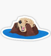 Otter Q Sticker