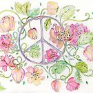 PEACE AND FLOWERS by Gea Austen