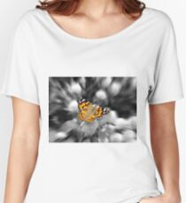 A Painted Lady  Women's Relaxed Fit T-Shirt