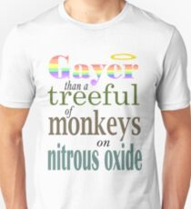 Gayer than... Unisex T-Shirt