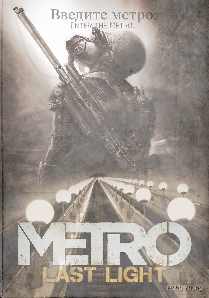 Enter The Metro - Fan Poster by Robb Young