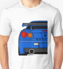 R34 Rear  Unisex T-Shirt