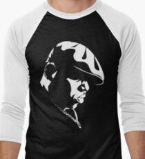 Biggie Stencil Men's Baseball ¾ T-Shirt