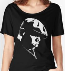 Biggie Stencil Women's Relaxed Fit T-Shirt