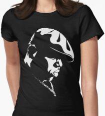 Biggie Stencil Women's Fitted T-Shirt