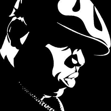 Biggie Stencil by TheWillsProject