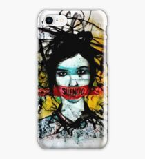 I want to scream but I have no mouth to scream with.. iPhone Case/Skin
