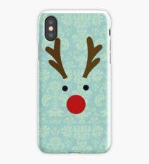 Reindeer design for Christmas iPhone Case/Skin