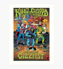 The Dawn of Gizzfest Art Print