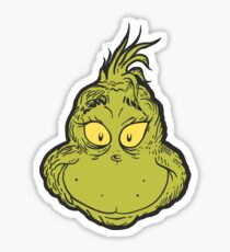 Grinch Sticker  sc 1 st  Redbubble & Grinch: Stickers | Redbubble