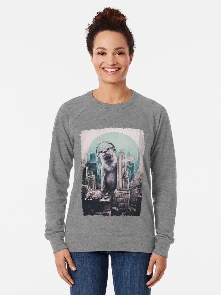 Alternate view of DJ Lightweight Sweatshirt
