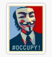 #Occupy! Sticker