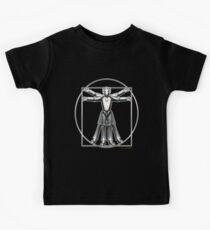 Cyber-Vitruvian Man Kids Tee
