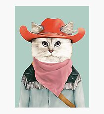 Rodeo Cat Photographic Print