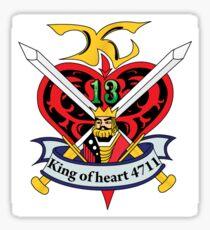 G Gundam King of Hearts Sticker