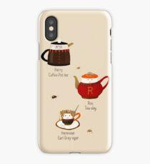 The Golden Tea-o iPhone Case