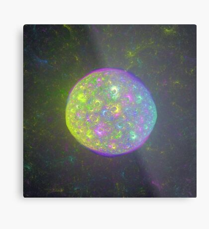 I also have another planet. #Fractal Art Metal Print