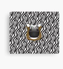 Zoo animals wildlife - Zebra Canvas Print