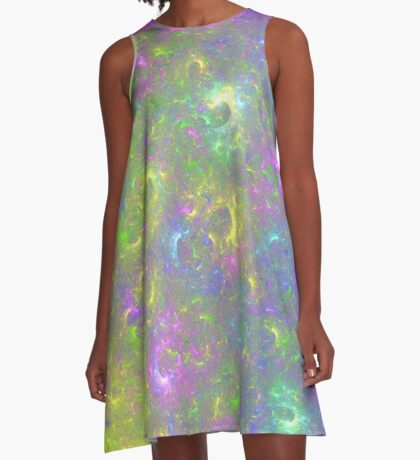 I also have another planet. #Fractal Art A-Line Dress
