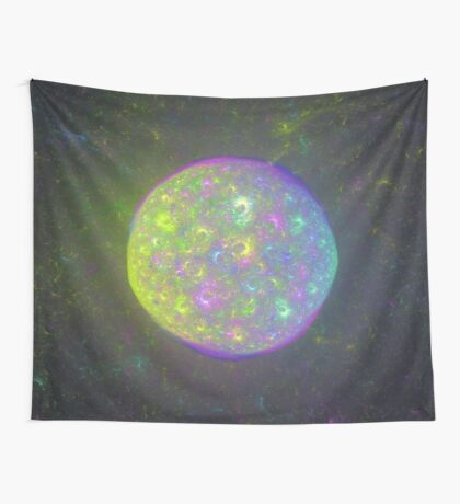 I also have another planet. #Fractal Art Wall Tapestry
