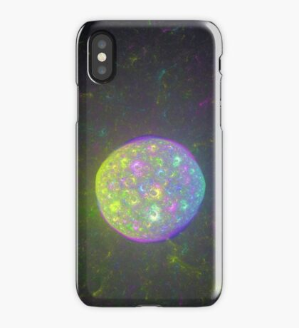 I also have another planet. #Fractal Art iPhone Case