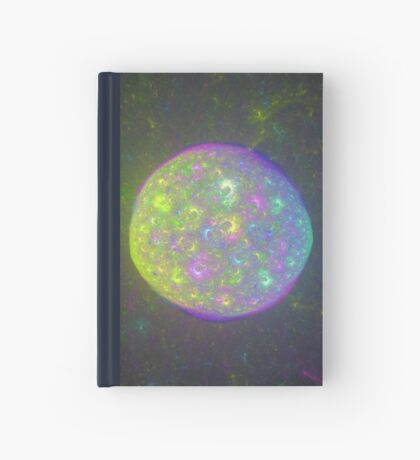 I also have another planet. #Fractal Art Hardcover Journal