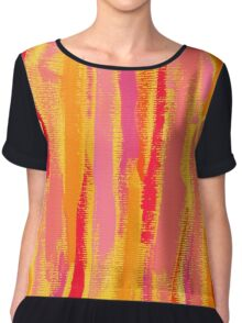 Always Remember That Sunset Chiffon Top