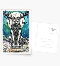 Wilde Grüße Postkarten