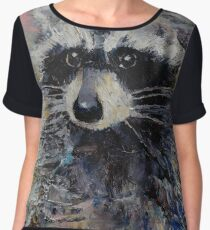 Raccoon Chiffon Top