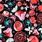 Floral print by Tanor