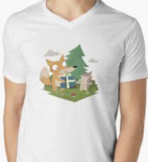 A Gift from a Fox Men's V-Neck T-Shirt
