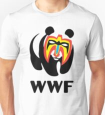 WWF Panda Wrestler Unisex T-Shirt