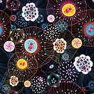 Bright abstract fantasy pattern by Tanor