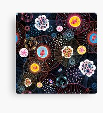 Bright abstract fantasy pattern Canvas Print